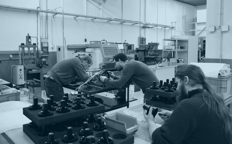 AeroDesignWorks Produktionshalle